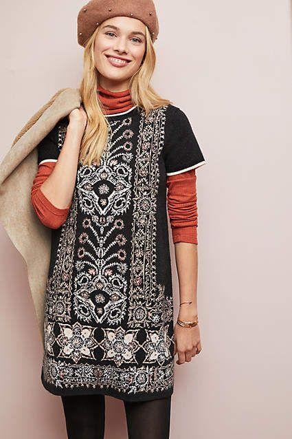 71814b879a2 Akemi + Kin Kaleidoscope Sweater Dress