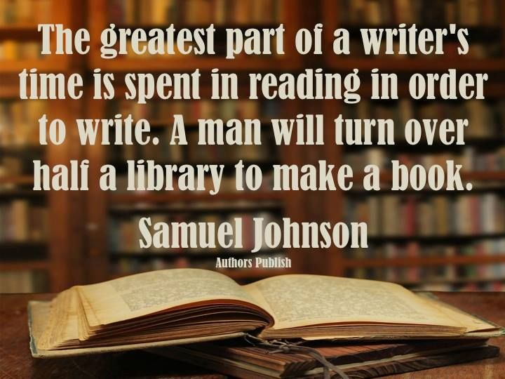 The best writers are readers