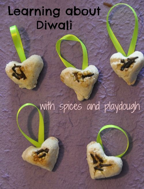 learning about diwali via ourfeministplayschool #playdough