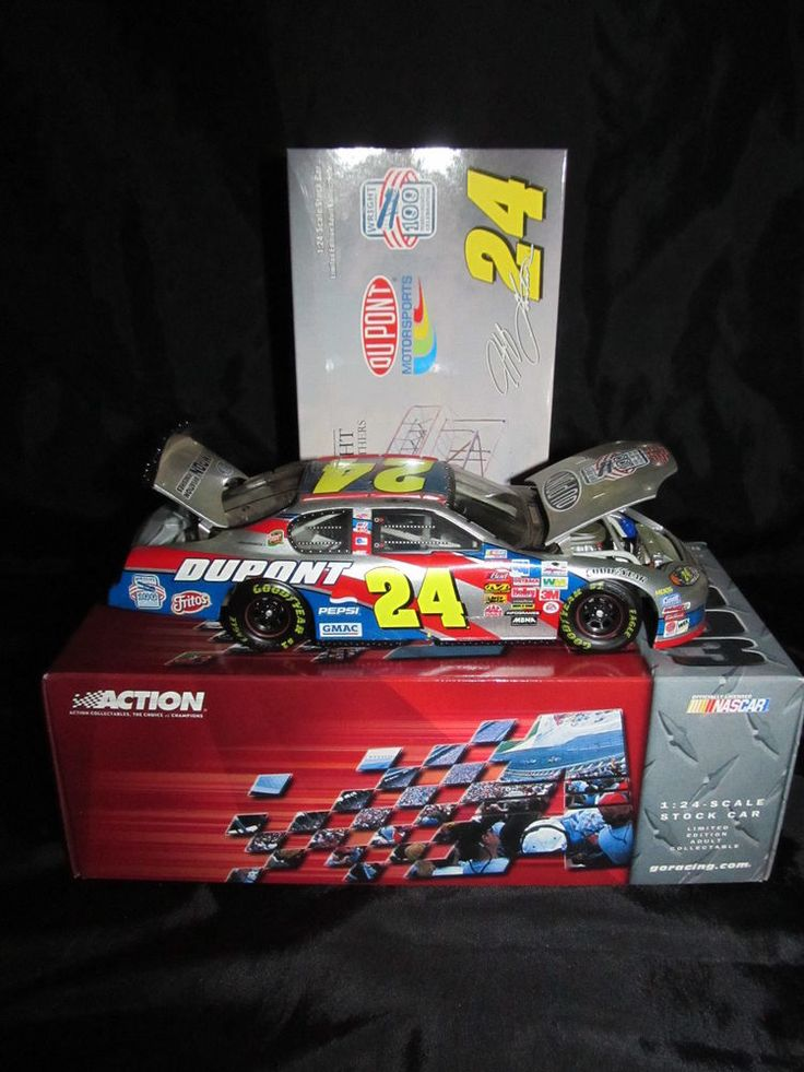 Action Nascar Jeff Gordon Dupont 2003 Monte Carlo Wright Brothers 1:24 Diecast  #Action #Chevrolet