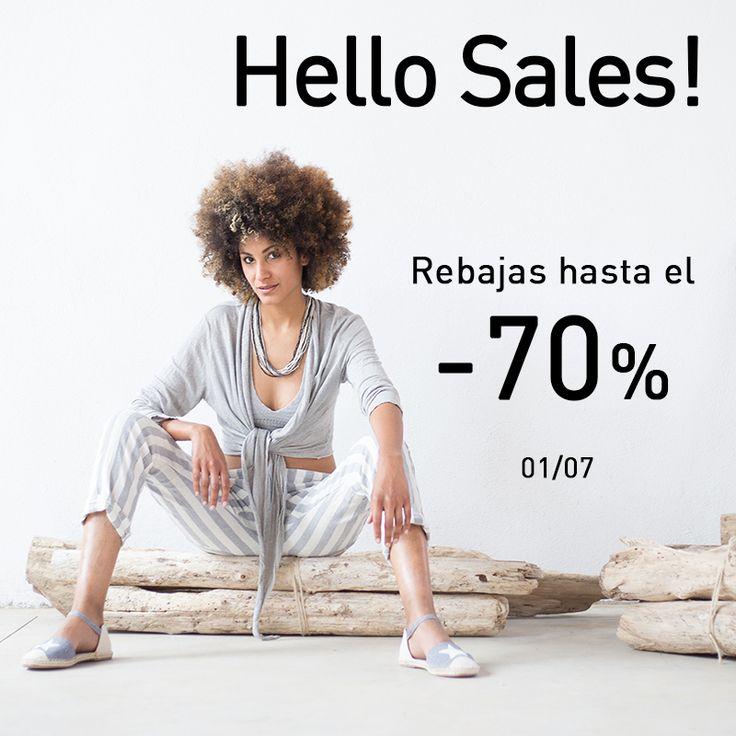 ¡Hola Rebajas! A partir de hoy disfruta de descuentos hasta el -70% en la mejor selección de artículos. ¡Apúntate a la moda casual look! #shop #sales #shoppingday #barcelona #newbrand #musthave #trendy #fashion #moda #tendencias #rebajas #instapic #casuallook #instafashion #oportunidades #florenciashop #modaflorencia