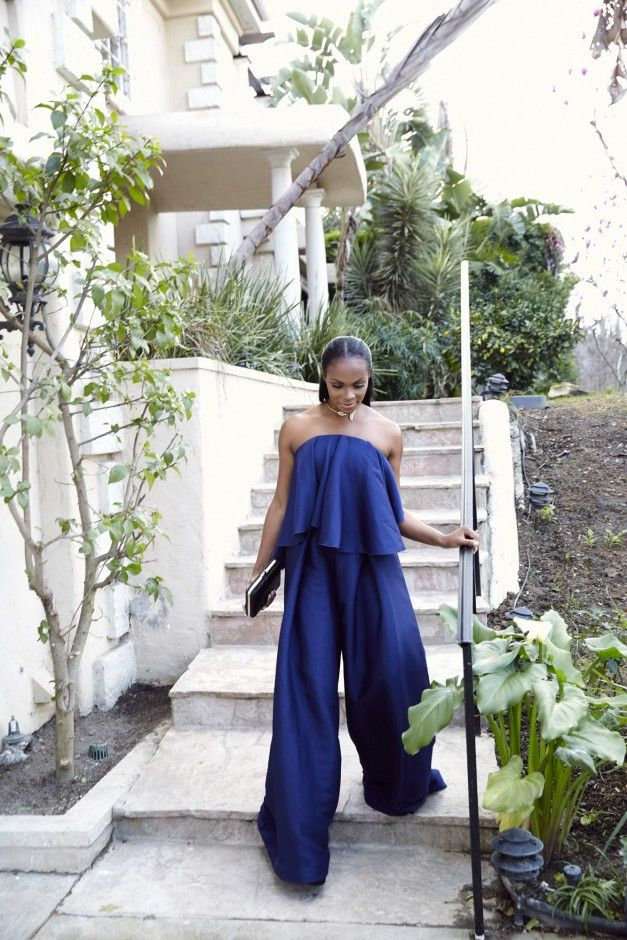 Tika Sumpter Getting Ready for the 2017 NAACP Image Awards: We captured Tika's getting ready process before the big night, then spoke with the actress for a full recap, including who made that jumpsuit. ----Solace London jumpsuit.  | Coveteur.com