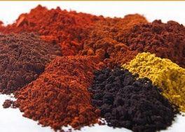 pigments terres et ocres naturels