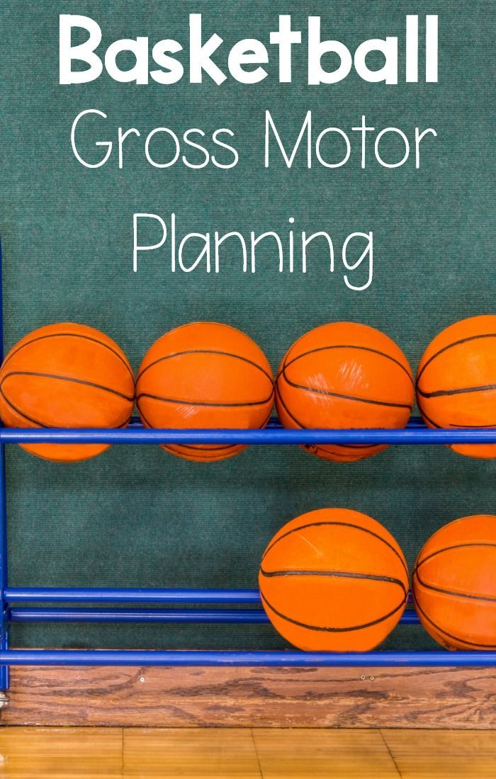 Basketball Themed Gross Motor And Fine Motor Ideas Pink Oatmeal Movement Idea March Madness Activities Motor Planning