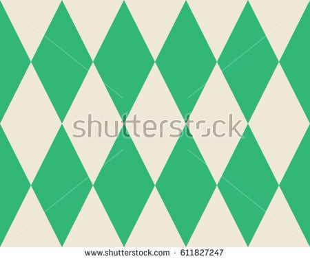 Vector abstract seamless rhombus pattern