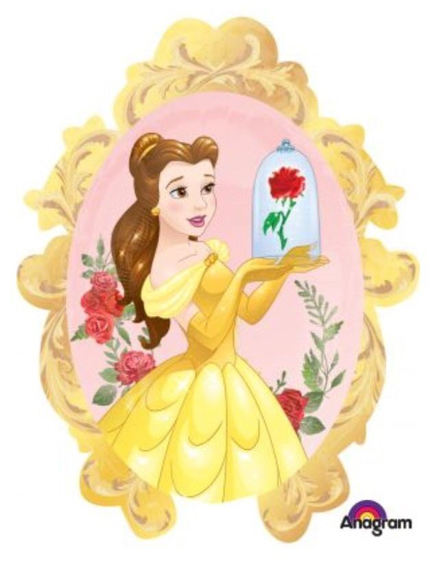 """(1) 31"""" Belle Beauty And The Beast Anagram Balloon. We want everyone to be happy and satisfied. It will be our pleasure to help you with that!! They are double sided and self sealing. Sizes are based off of flat dimensions. 
