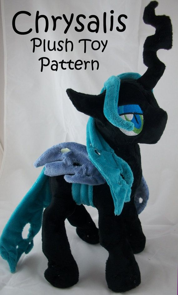 My Little Pony Friendship is Magic CHRYSALIS Plush by Finnickie, £10.00
