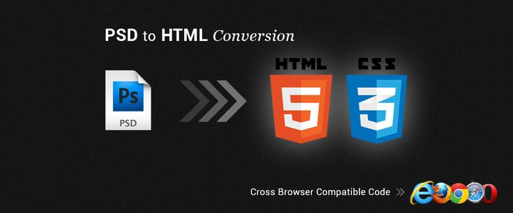 PSD to Html5 – Create an Interactive Website