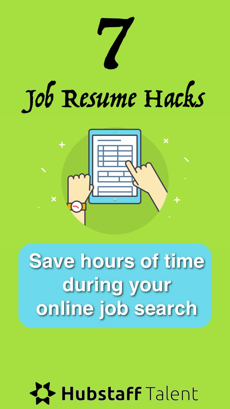 17 best ideas about online job applications resume application resume hacks for saving hours of time during your online job search looking