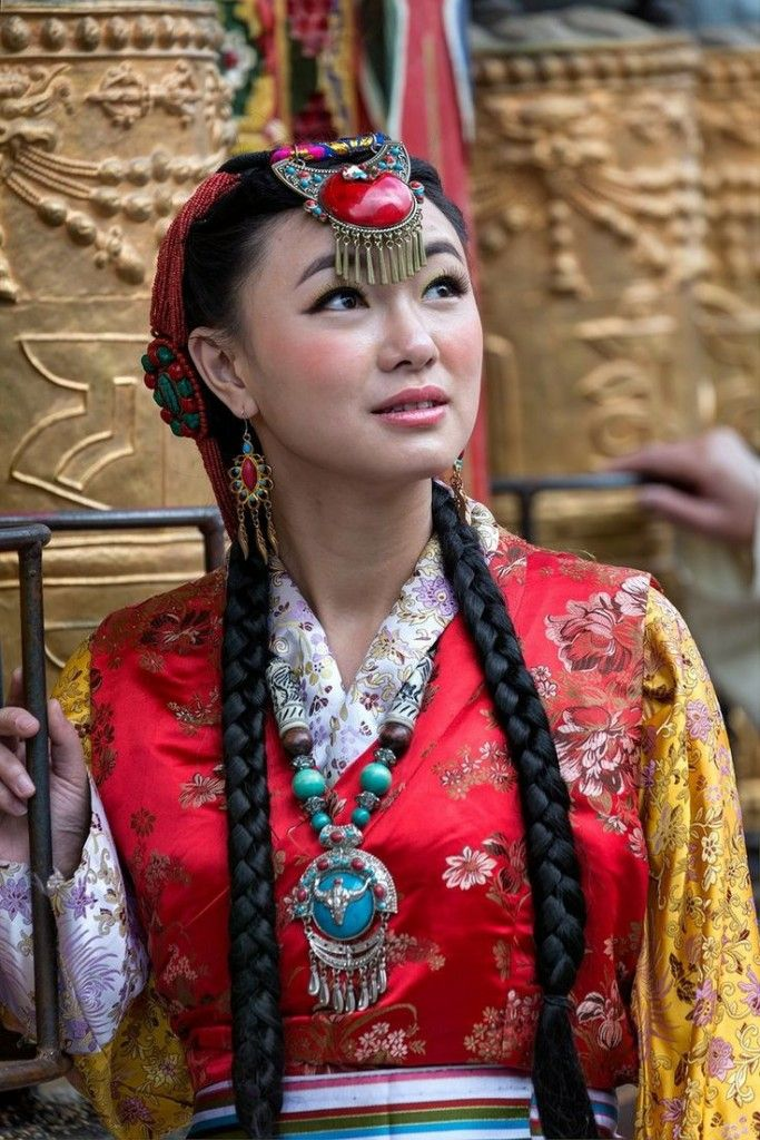 novia del Tíbet