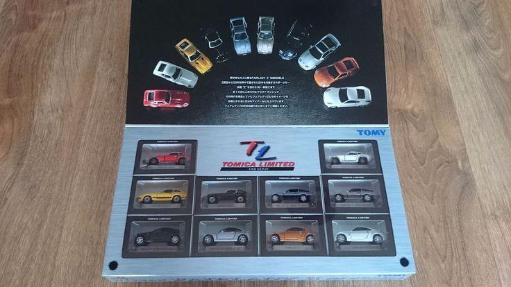 TOMICA LIMITED TL NISSAN FAIRLADY 10 MODELS | 240ZG S30 Z31 Z32 Z33 | 2002 CHINA