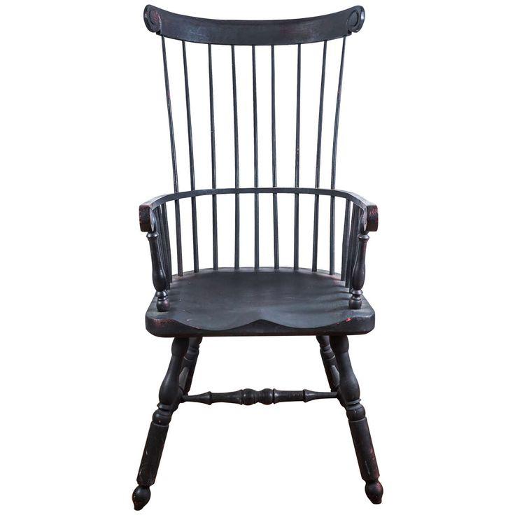 High-Back Windsor Chair