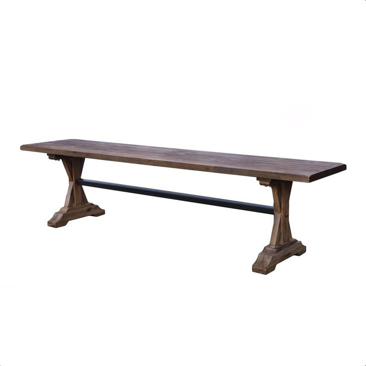 The Chatelaine Dining Bench from LH Imports is a unique home decor item. LH Imports Site carries a variety of Chatelaine items.