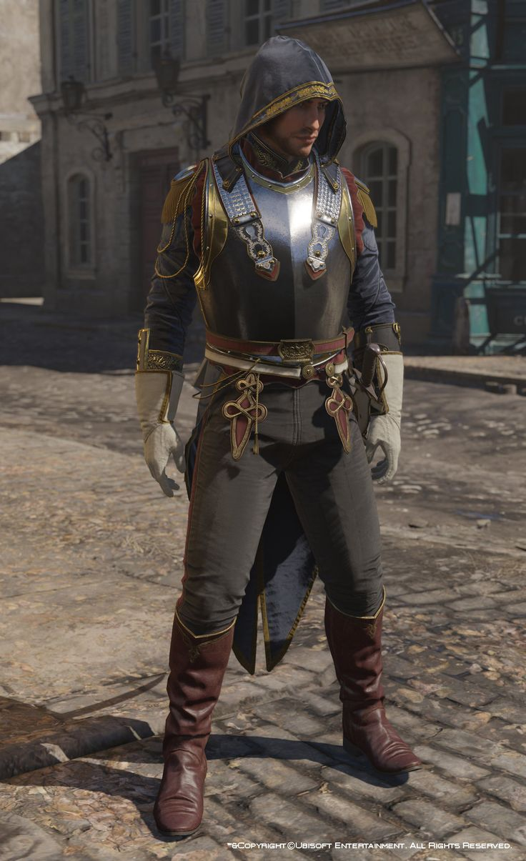 http://www.artstation.com/artwork/assassin-s-creed-unity-avatar-napoleonian-outfit-four