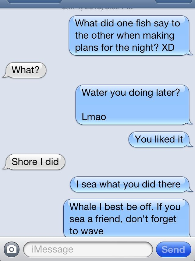 Hook up puns