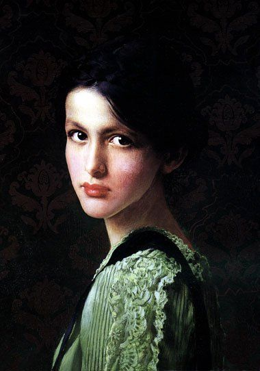I figure, paintings should count, too, because many of them use real models. Vittorio Matteo Corcos 1859-1933 | Italy.