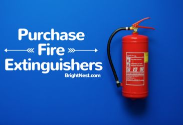 Keep your family safe and prevent catastrophic property damage with a fire extinguisher. There are a wide variety of extinguishers in various sizes ranging from $15 to more than $100, but regardless of size and price, all fire extinguishers perform the same vital task. So even if you're on a budget, there's no excuse to not purchase one!