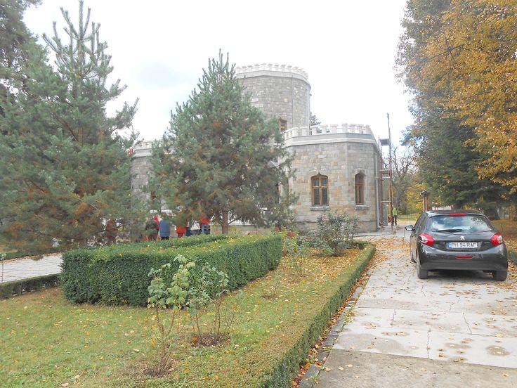 Campina Castelul Iuliei Hasdeu facut de tatal ei, la indicatiile Iuliei dupa moartea ei.