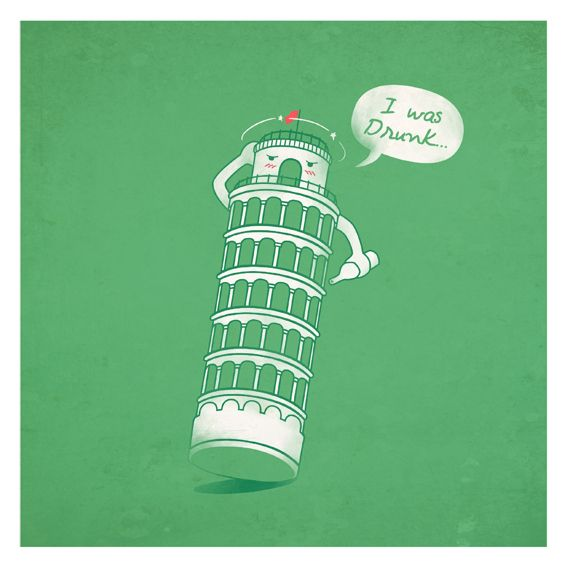 pissed tower