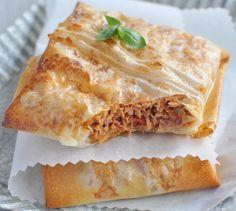 Brick au Thon et à la tomate - Envie de bien mange #recette #brick #allergène