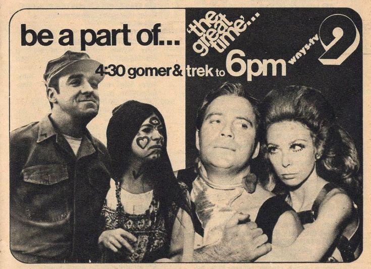 1973 WNYS SYRACUSE,NEW YORK TV AD~STAR TREK & GOMER PYLE~WILLIAM SHATNER