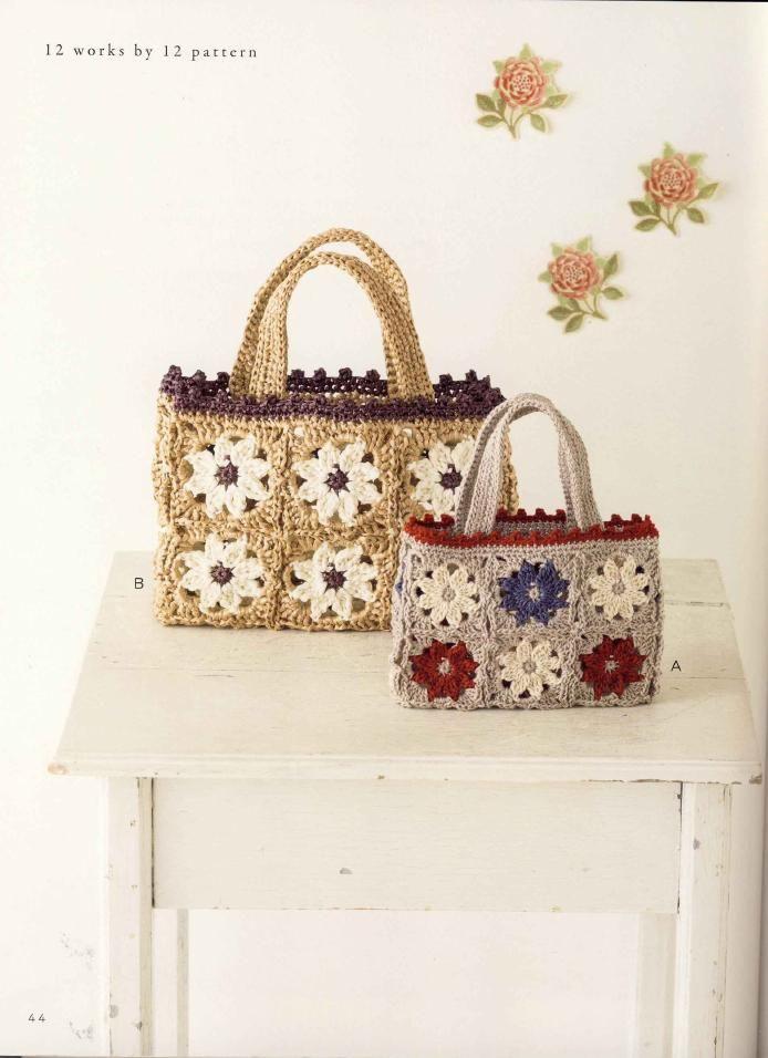 Crochet Bags Pinterest : crochet bags c??c???.....???s & purses Pinterest
