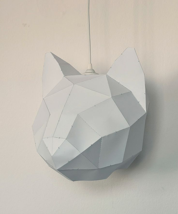 Craft and Assemble Cat Lamp