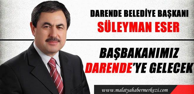 Başbakanımız Darende'ye gelecek Darende haber http://www.malatyahabermerkezi.com/kategori-58-malatya-darende-haber.html