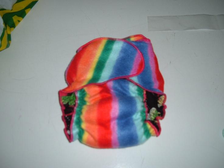 Pattern/Patron Little Starter Cloth Diaper