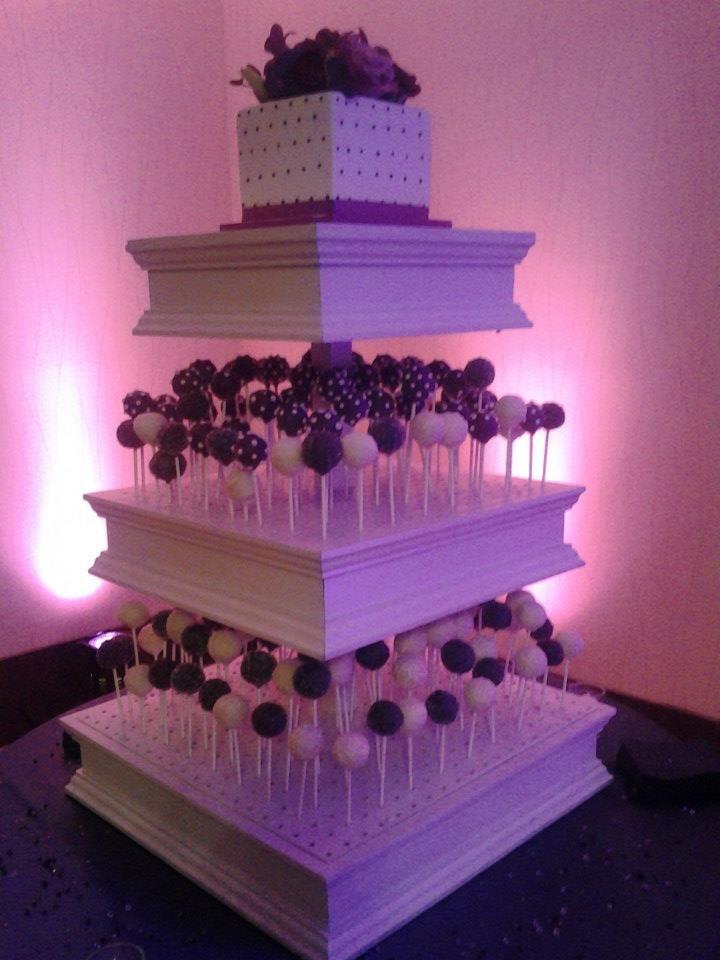 Cake Pop Stand Wedding Cakes Pinterest