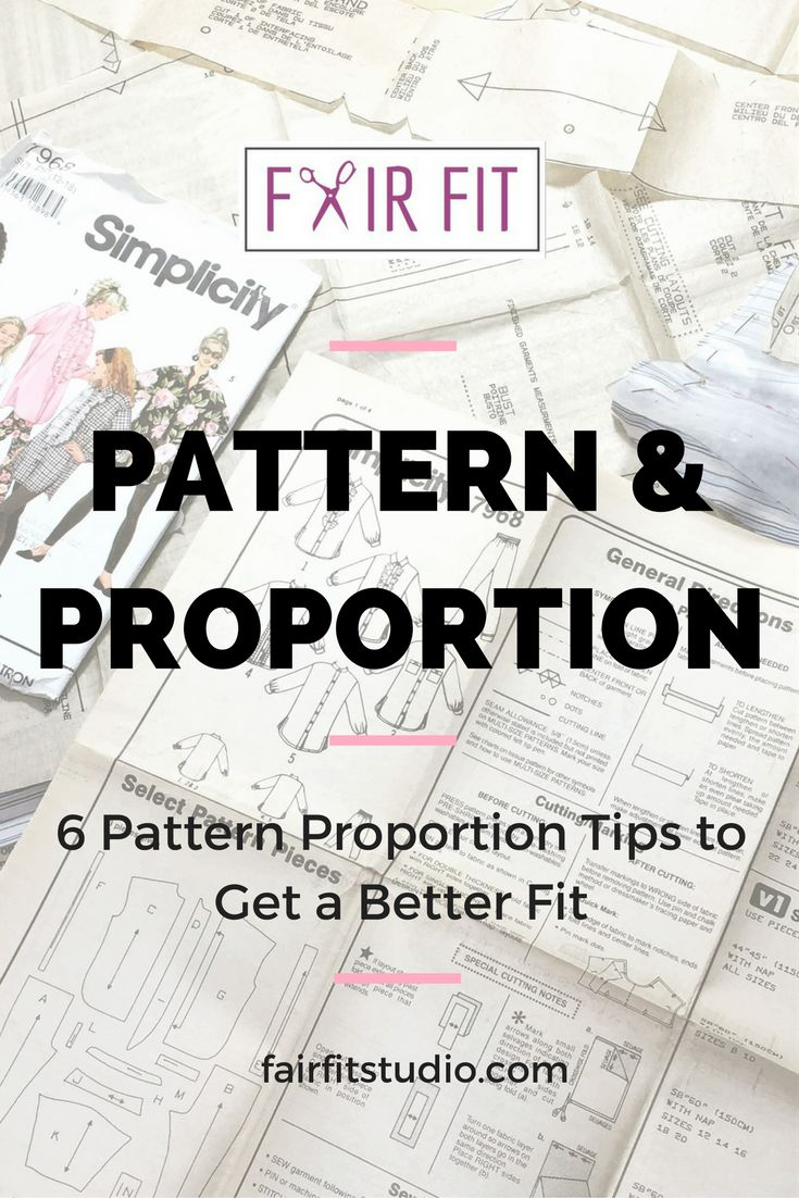 Choosing the right pattern, and making it work for your unique proportions is really important, so I've listed 6 tips to help you find the right proportions with a sewing pattern and included a free worksheet to help you record your own measurements and how they relate to proportion.