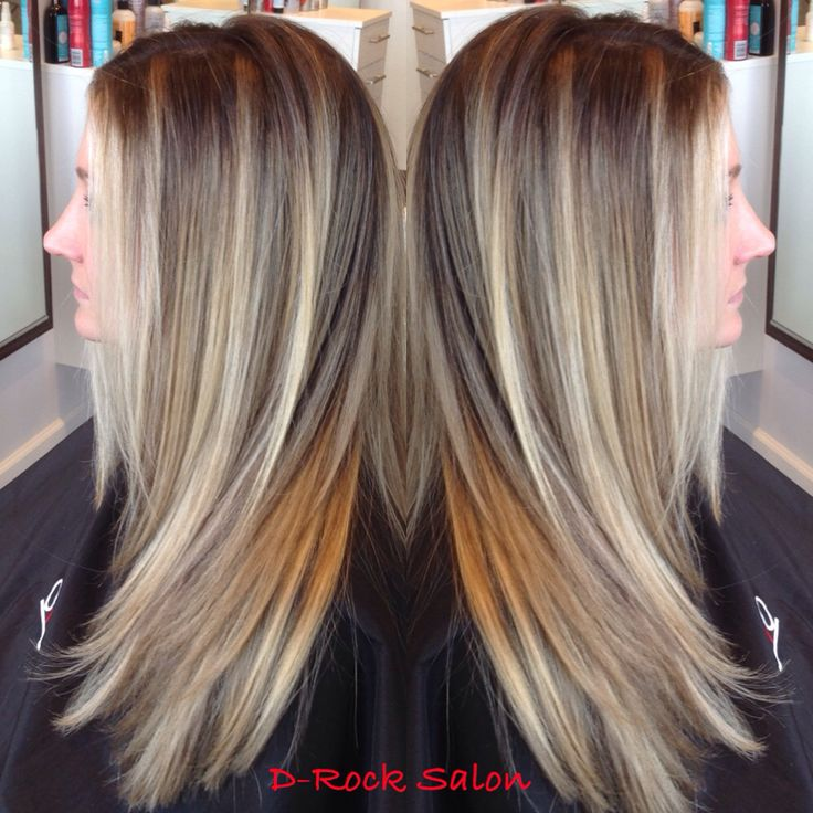 117 best balayage highlights images on pinterest braids long brown hair with blond highlights caramel honey platinum blond chocolate hair color 2014 hair trend 2014 ombr balayage dark hair with pmusecretfo Gallery
