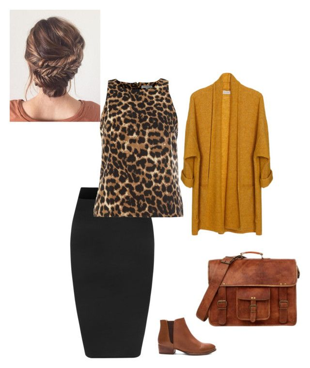 """""""leo"""" by ohraee on Polyvore featuring WearAll, Seychelles, American Vintage and Alice & You"""