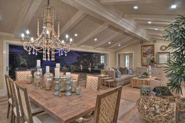 1512 Dolphin Terrace (night shots) - transitional - dining room - los angeles - Spinnaker Development