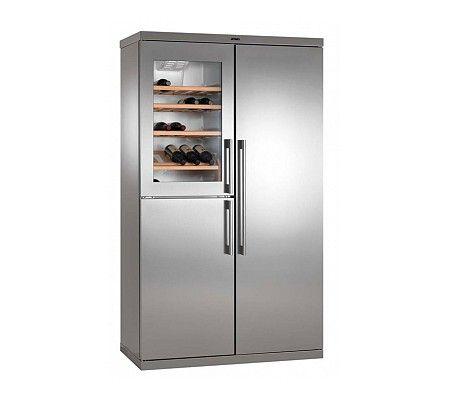 Atag vrijstaande koelkast met vriesgedeelte en wijnklimaatkast