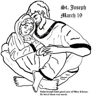 We covered the tradition of having a St. Joseph's altar, but today lets look at some other fun things we can do to celebrate St. Joseph's feast day! I love this printable St. Joseph paper dol...