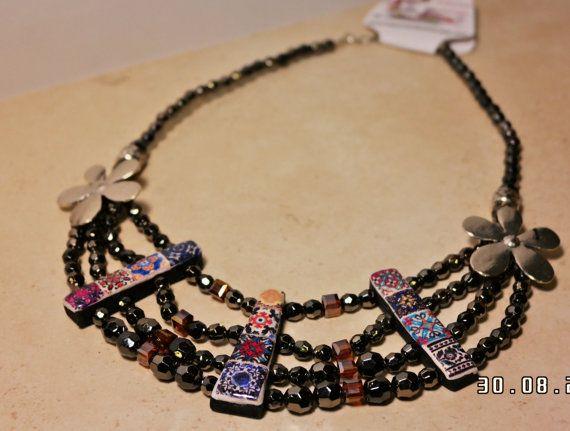 Collar gargantilla por LasJoyitasDeMarie en Etsy, $32.00