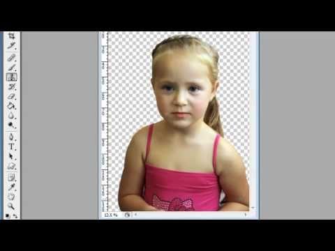 Как отделить фотографию и перенести на другой фон - YouTube