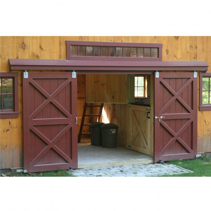 Horizontal Sliding Garage Doors. Over Wooden Sliding Garage ...