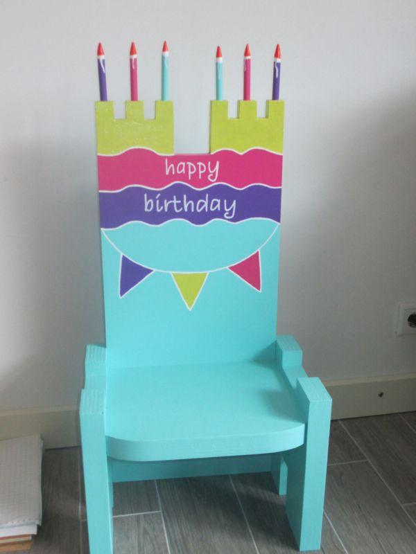 25 beste idee n over verjaardag stoel op pinterest kind for Stoel kind ikea