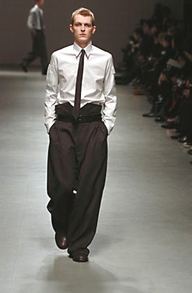 Raf Simons Fall 2005 Menswear