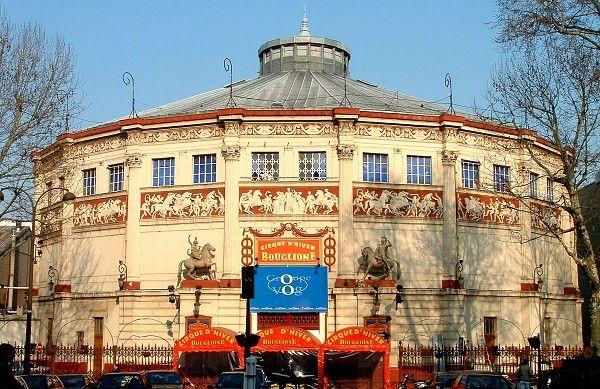 Cirque d'Hiver, Paris, Site of Thierry Mugler Fashion Show, 1995