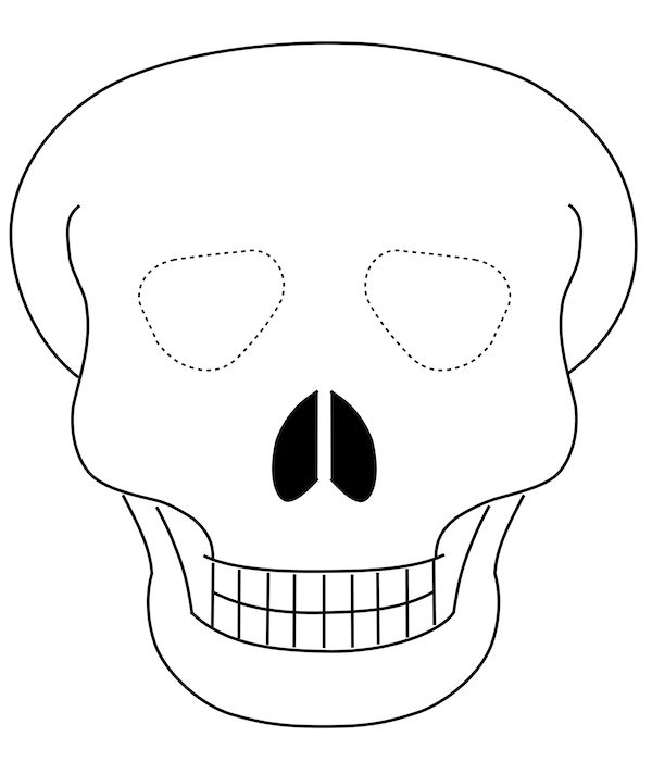 170 best Printable Halloween Masks images on Pinterest