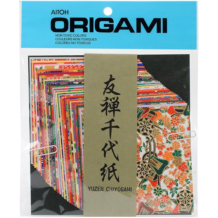 Aitoh-Origami Paper. Amazingly Simple And Incredibly Beautiful. Create Exquisite Paper Decorations This Package Contains Forty 4X4 Inch Origami Sheets In A Variety Of Designs. Non-Toxic. Imported.