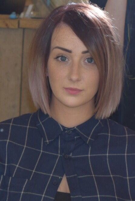 Fancy a change for Autumn? Violet red blurred into a smokey amethyst pastel toner from wella.
