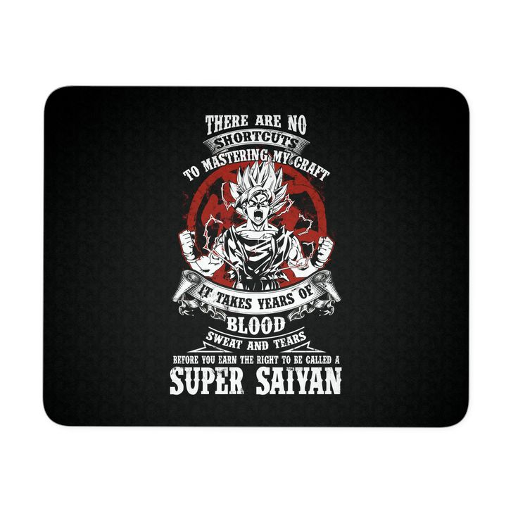 Super Saiyan GOKU TRAINING TO GET YOUR TITLE Mouse Pad - TL00045MP