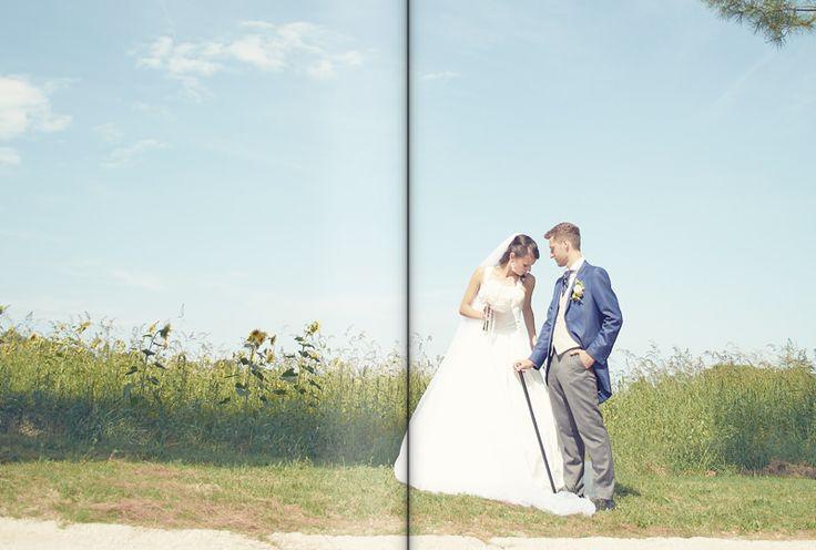 bride groom wedding dress gown veil romance blue pink tight  by Luca Massaccesi http://www.brobrowedding.com/