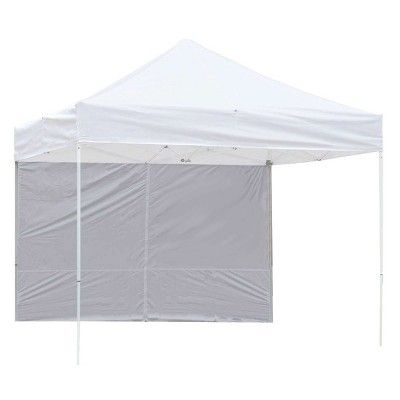 Z Shade 10 Foot White Peak Instant Canopy Tent Taffeta Sidewall Accessory Only Canopy Tent Instant Canopy Canopy