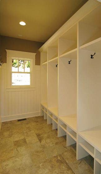Like the Locker look for the mudroom=== sigh... one day I'll have a house big enough for this!
