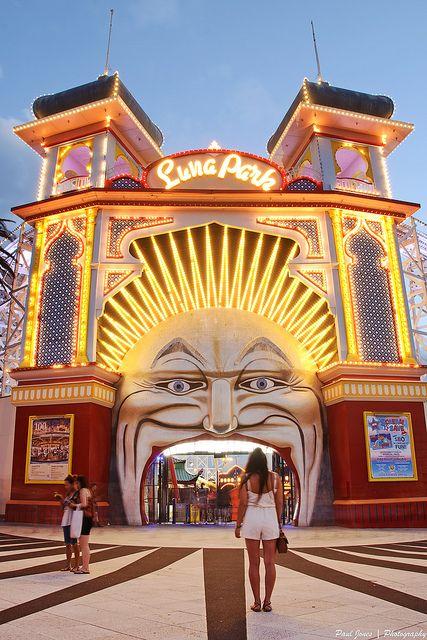 Luna Park, Saint Kilda, Melbourne
